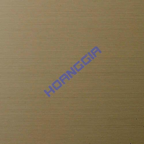 Inox chống vân tay hairline bronze anti fingerprint