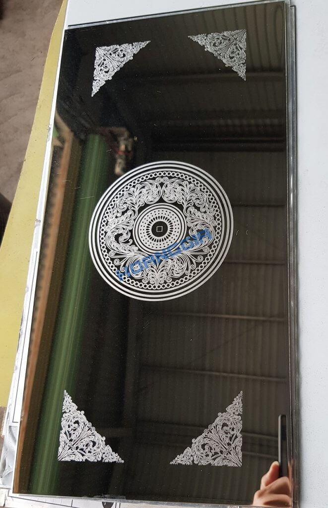 Inox cửa thang vách thang et mirror cabin 01