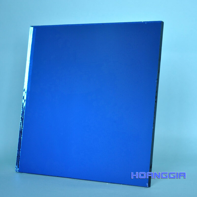 Inox gương blue mirror