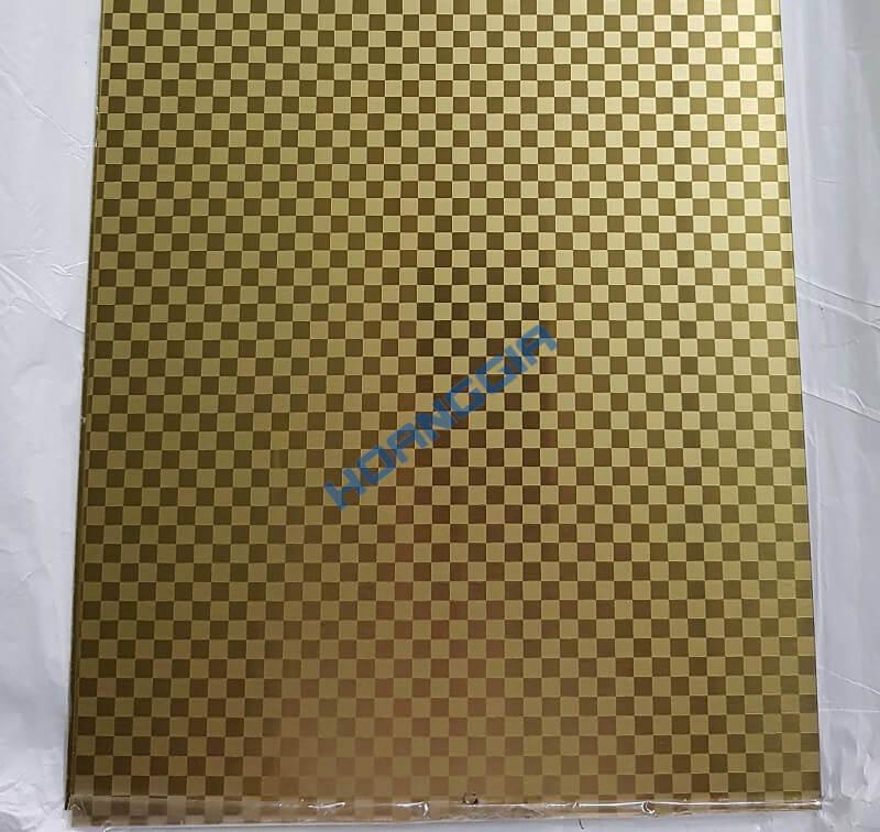 Inox hoa văn vàng et gold 10