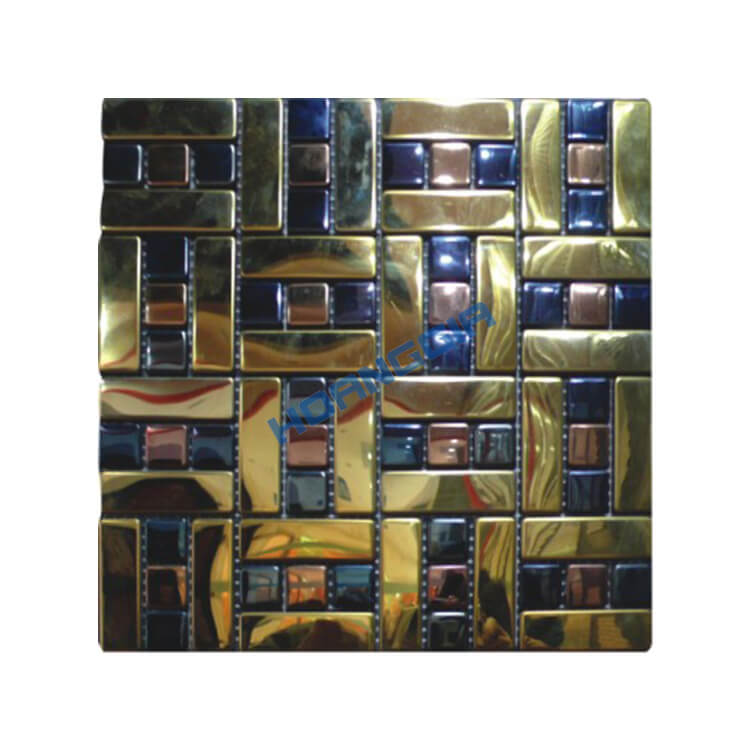 Inox khảm mosaic 05