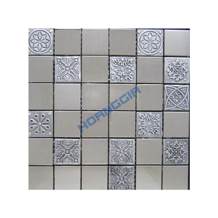 Inox khảm mosaic 09