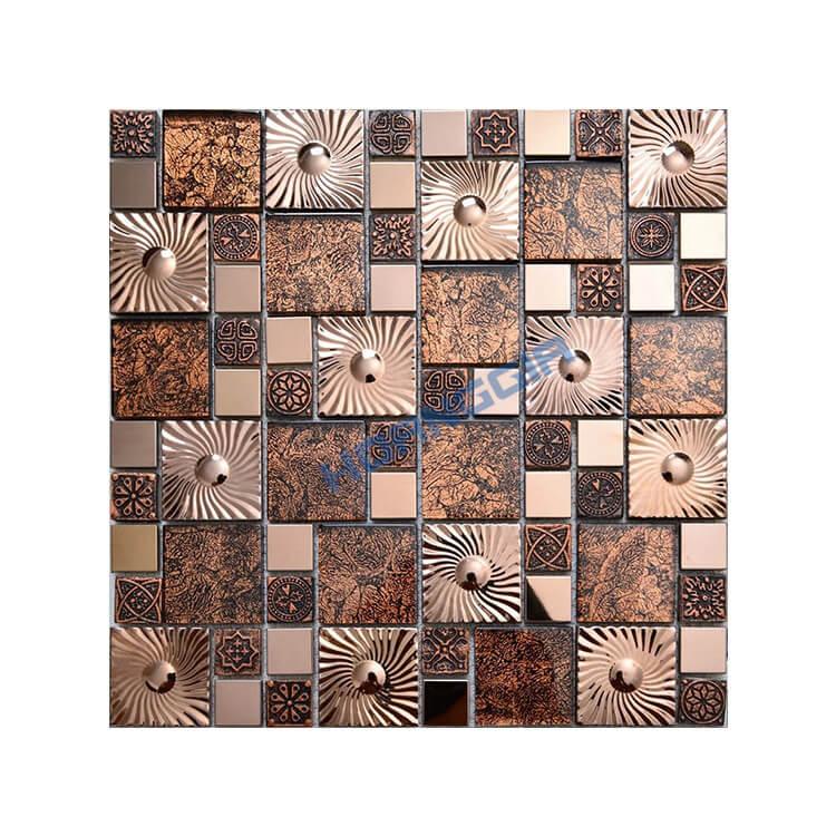 Inox khảm mosaic 24