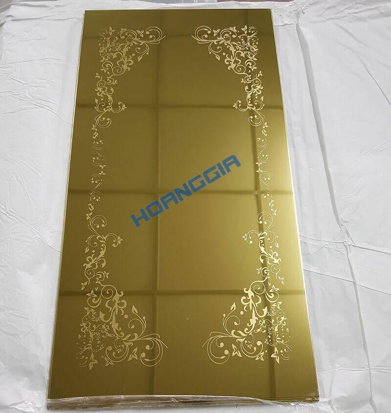 Inox cửa thang vách thang et gold door 03