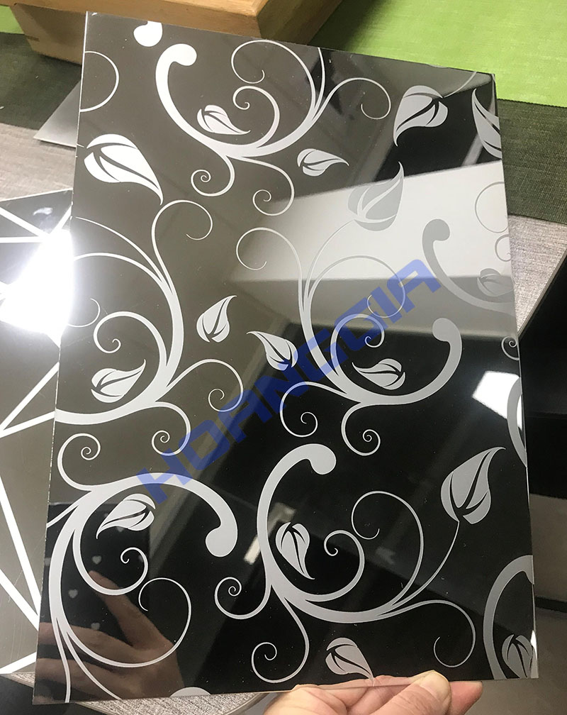 Inox hoa văn trắng ET mirror 13